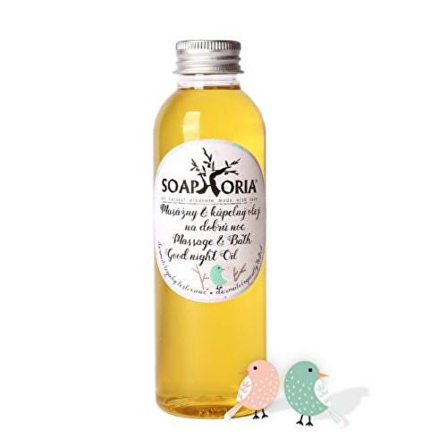 Soaphoria Babyphoria organický masážní a koupelový olej na dobrou noc 150 ml