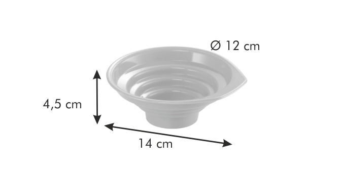 Tescoma DELLA CASA nálevka na zavařovací sklenice