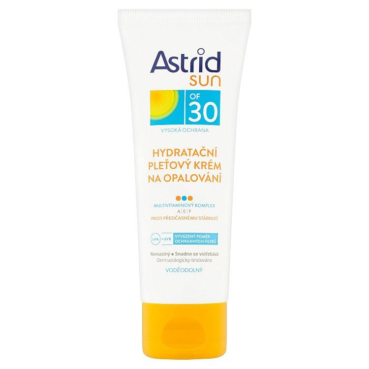 Astrid Sun hydratační pleťový krém na opalování OF 30 75 ml