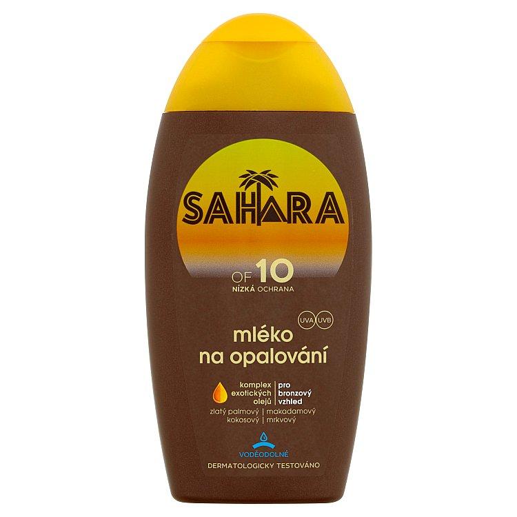 Sahara mléko na opalování OF 10 200 ml