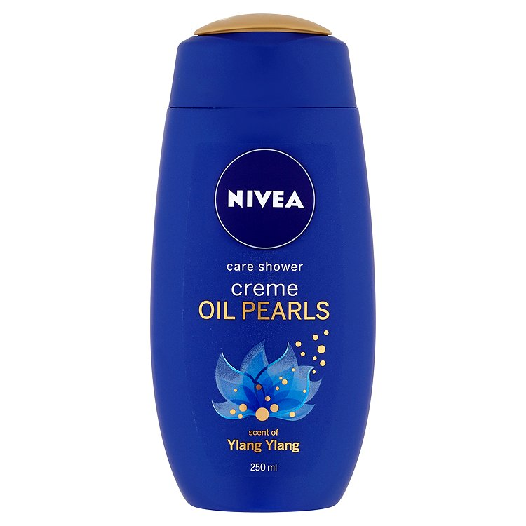 Nivea Creme Oil Pearls Ylang Ylang pečující sprchový gel 250 ml