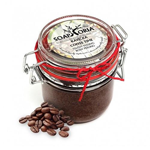 Soaphoria přírodní peeling na tělo Kávička 255 ml