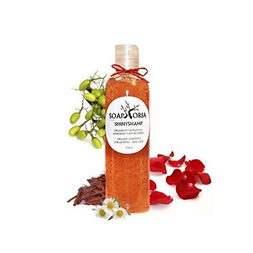 Fotografie Soaphoria ShinyShamp přírodní tekutý šampon pro lesk normálních vlasů 250 ml