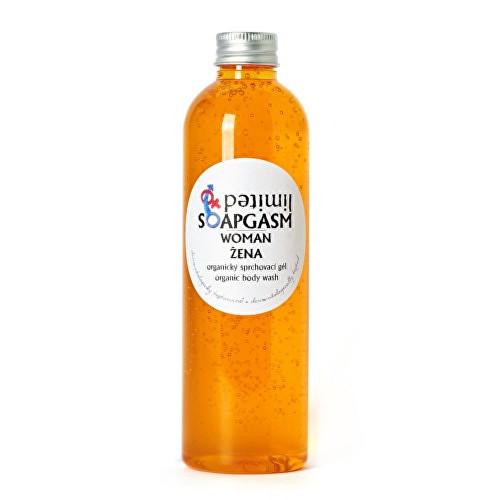 Fotografie Soaphoria Soapgasm organický sprchový gel Žena 250 ml