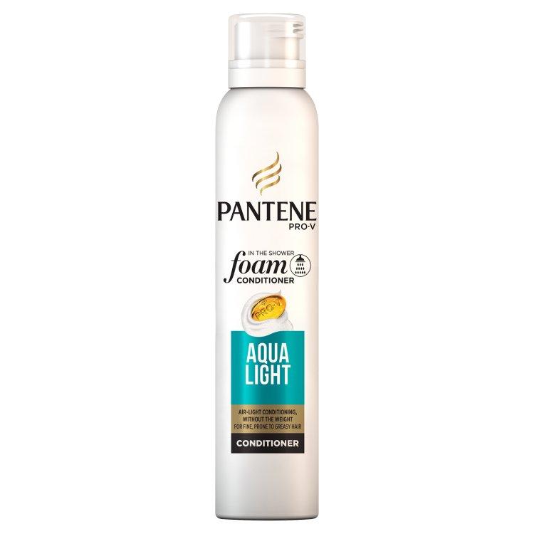 Pantene Pro-V Aqua Light pěnový balzám pro jemné vlasy se sklonem k maštění 180 ml
