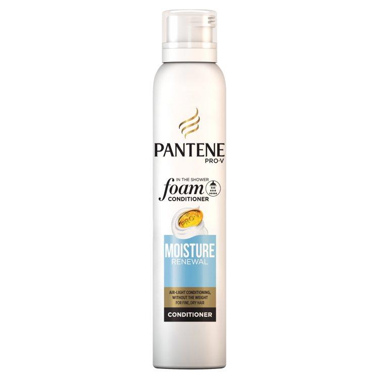 Pantene Pro-V Moisture Renewal pěnový balzám pro jemné a suché vlasy 180 ml