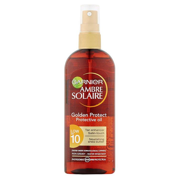 Garnier Ambre Solaire Golden Protect olej na opalování OF 10 150 ml