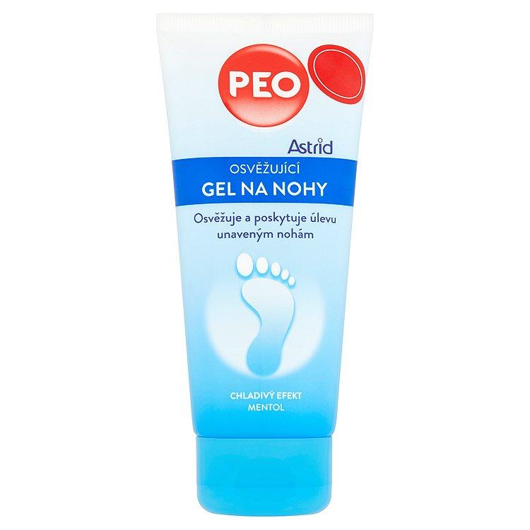 Astrid PEO osvěžující gel na nohy 100 ml