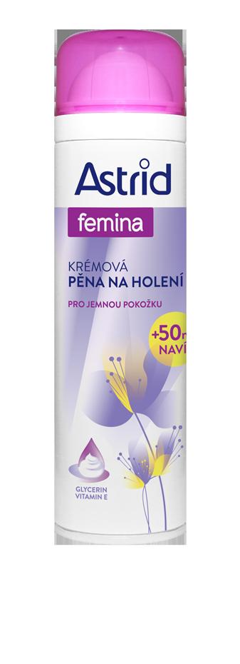 Astrid Femina krémová pěna na holení pro jemnou péči 250 ml