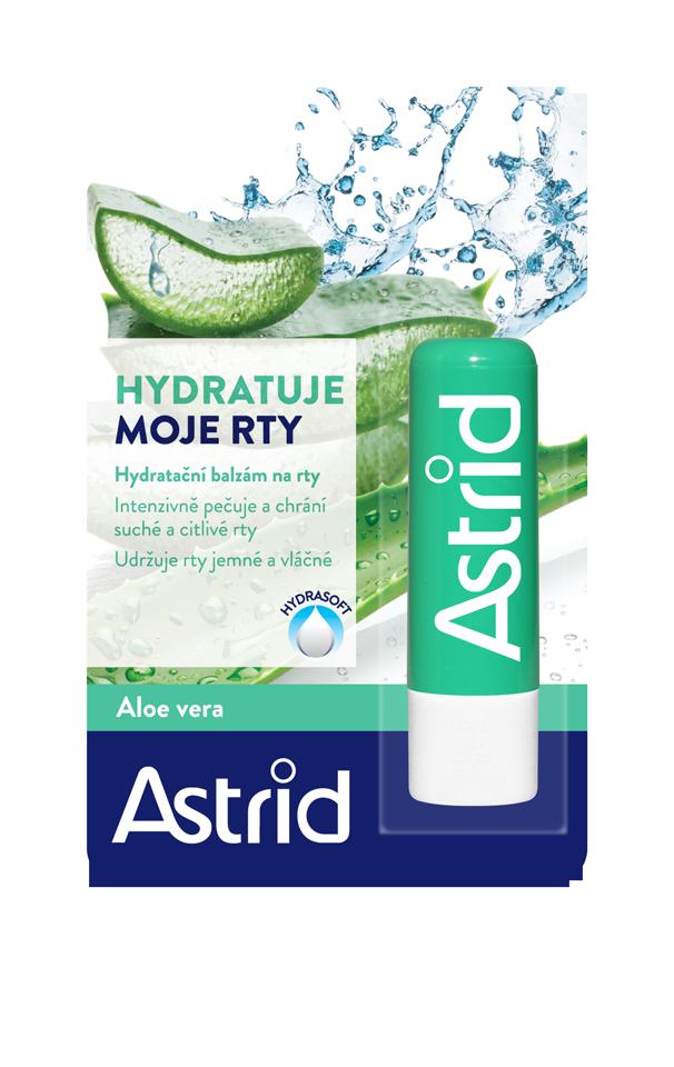 Astrid hydratační balzám na rty s aloe vera 4,8 g