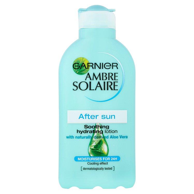 Garnier Ambre Solaire zklidňující hydratační mléko po opalování 200 ml