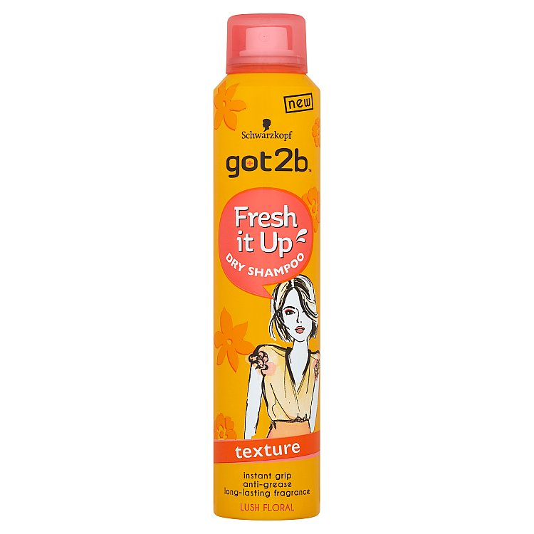 got2b Fresh it Up strukturující suchý šampon 200 ml