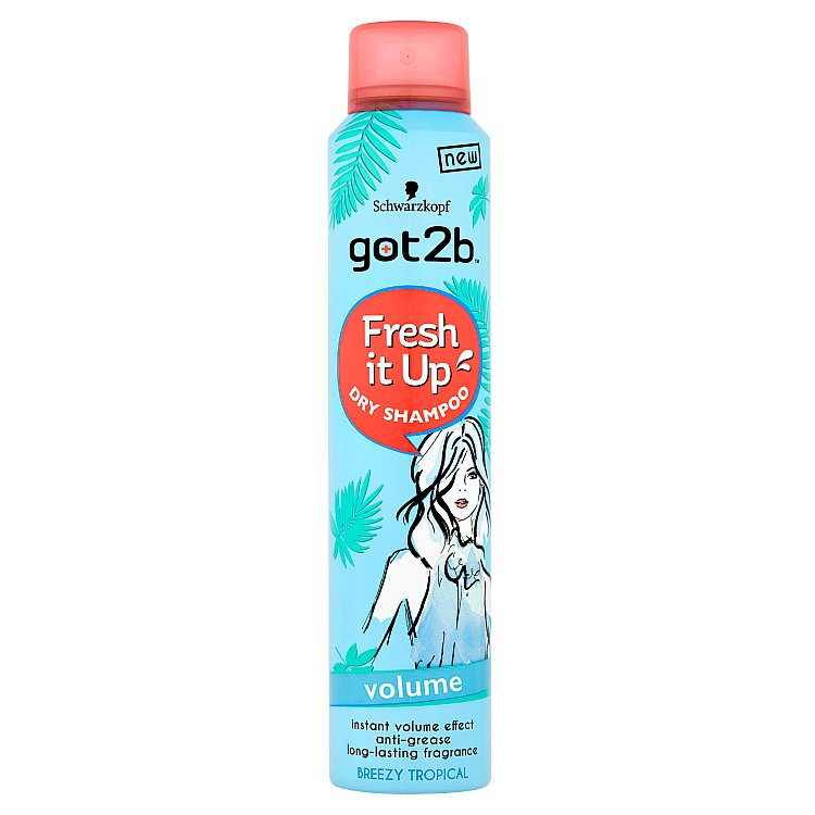 got2b Fresh it Up suchý šampon pro objem 200 ml
