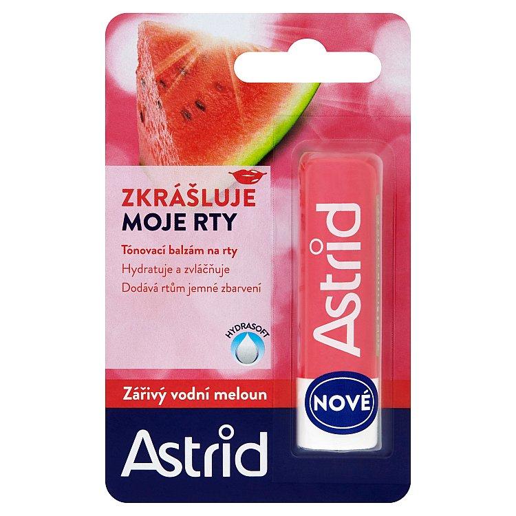 Astrid vodní meloun balzám na rty 4,8 g