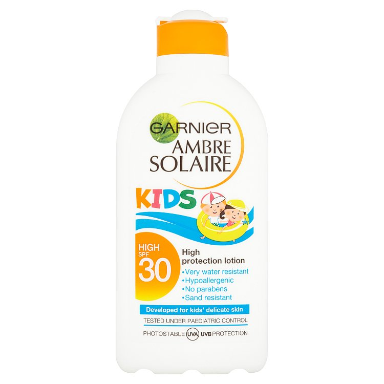 Garnier Ambre Solaire ochranné mléko pro děti OF 30 200 ml