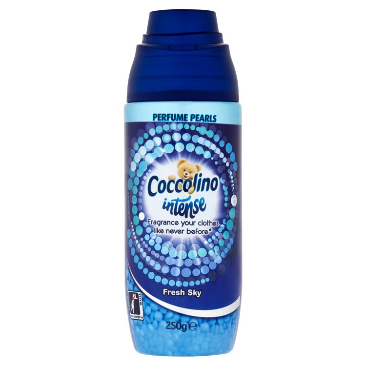 Coccolino Intense Fresh Sky parfémované kuličky na praní 250 g