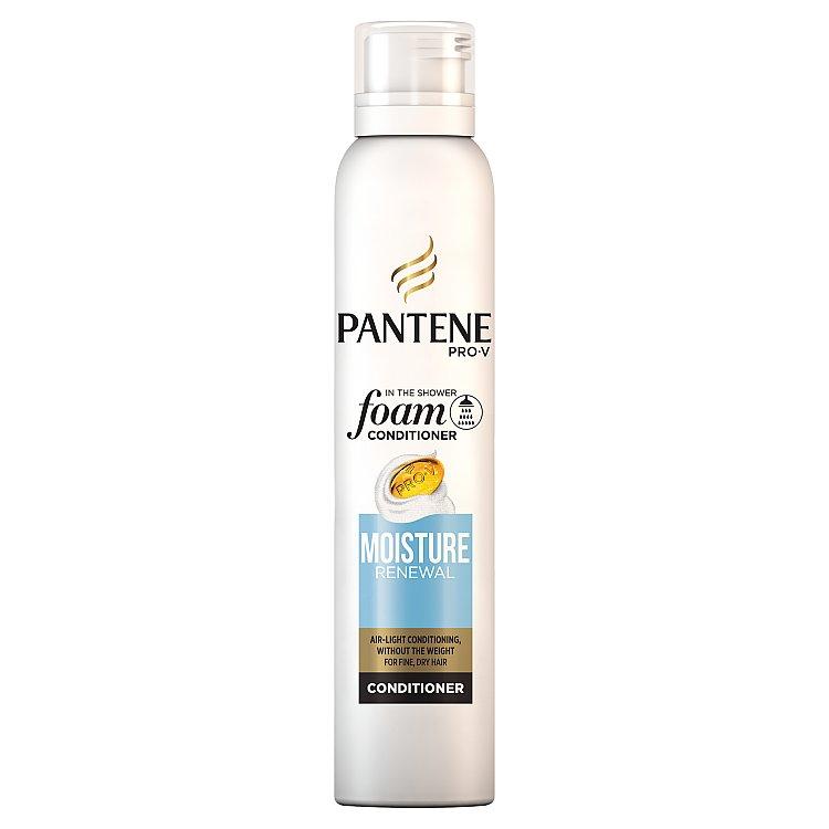 Fotografie Pantene Pro-V Moisture Renewal pěnový balzám na vlasy do sprchy 180 ml