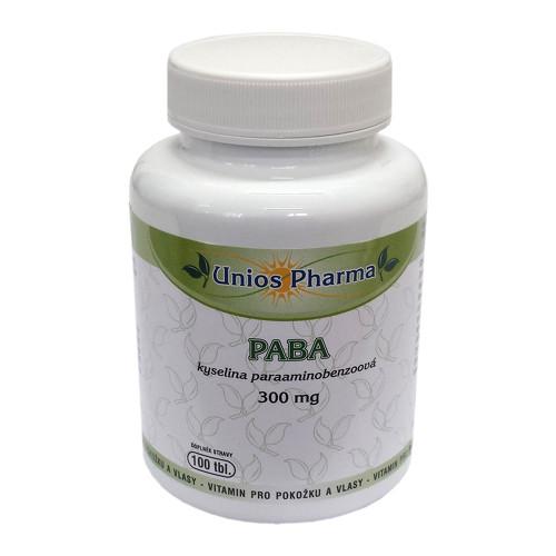 Unios Pharma PABA + Beta karoten ZDARMA 100 tbl. + 30 tbl.
