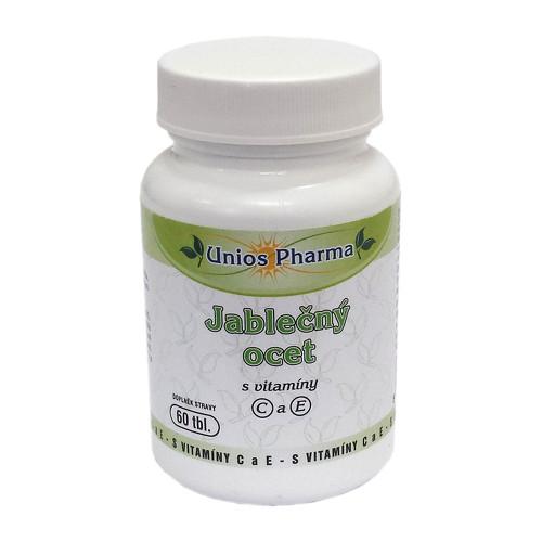 Fotografie Jablečný ocet s vitamíny C a E 60 tbl.