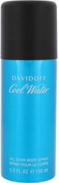 Davidoff Cool Water Man deodorant s rozprašovačem 150 ml