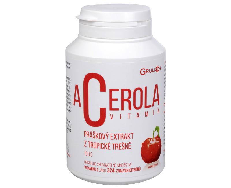 Fotografie Acerola vitamín 100 g