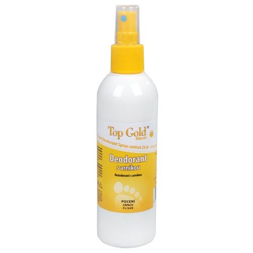 Fotografie TopGold - deodorant s arnikou a Tea Tree Oil (na nohy) 150 g