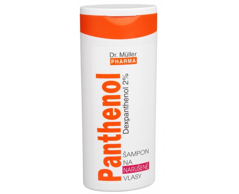 Fotografie Panthenol šampon na narušené vlasy 250 ml