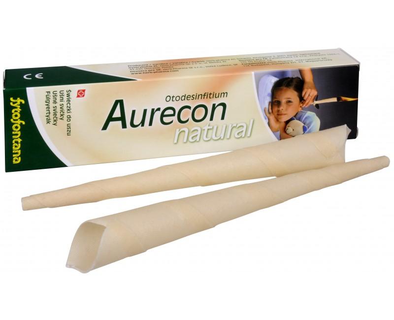 Fotografie Aurecon ušní svíčky Natural 2 ks