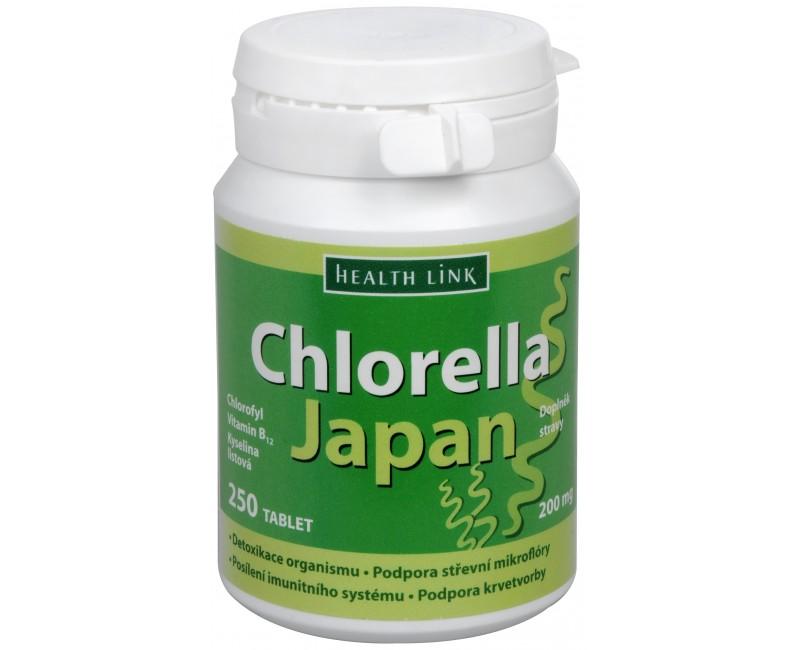 Chlorella Japan 250 tbl.