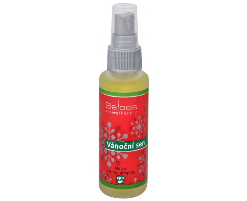Fotografie Natur aroma airspray - Vánoční sen (přírodní osvěžovač vzduchu) 50 ml