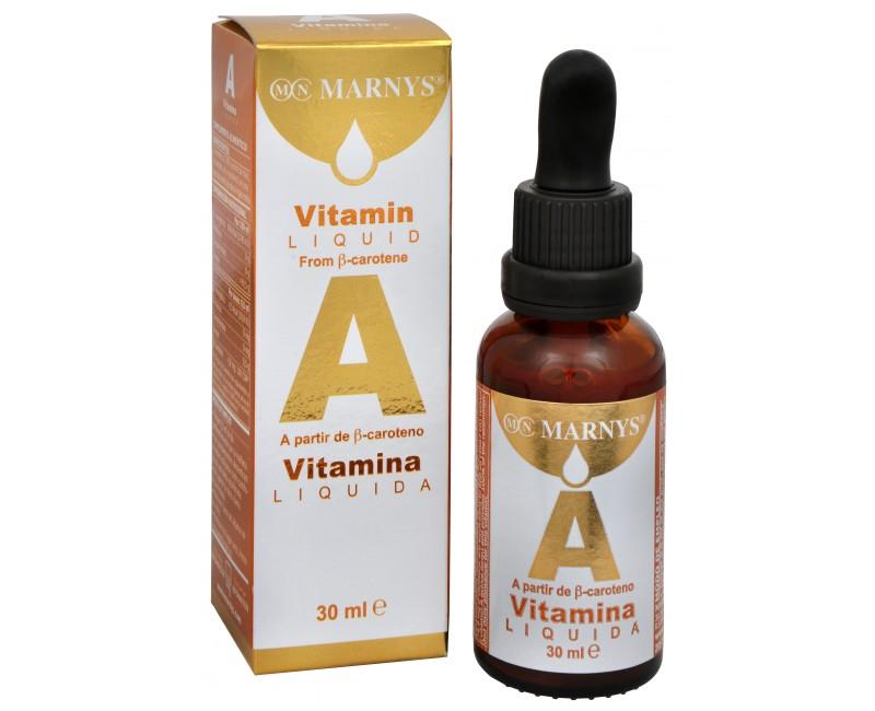 Fotografie Tekutý vitamín A 30 ml
