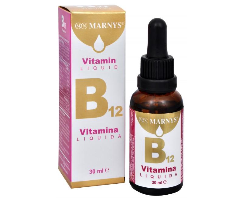 Fotografie Tekutý vitamín B12 30 ml