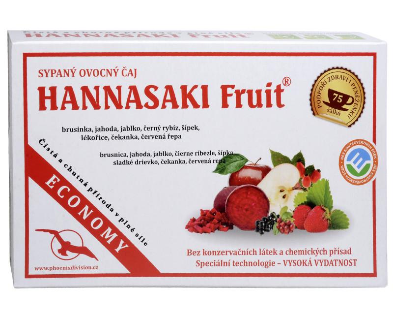 Fotografie Hannasaki Fruit - ovocná čajová směs 3 x 25 g