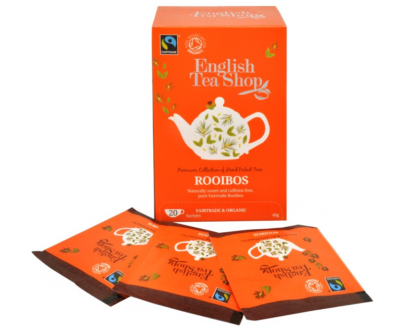 Fotografie English Tea Shop čistý čaj Rooibos 20 sáčků