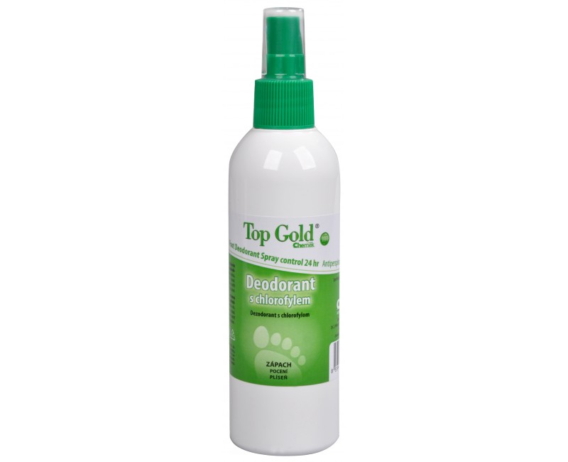 Fotografie TopGold - deodorant s chlorofylem a Tea Tree Oil (na nohy) 150 g