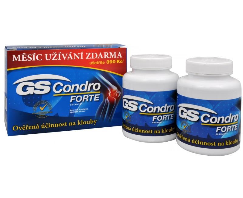GS Condro FORTE 120 tbl. + 60 tbl. ZDARMA