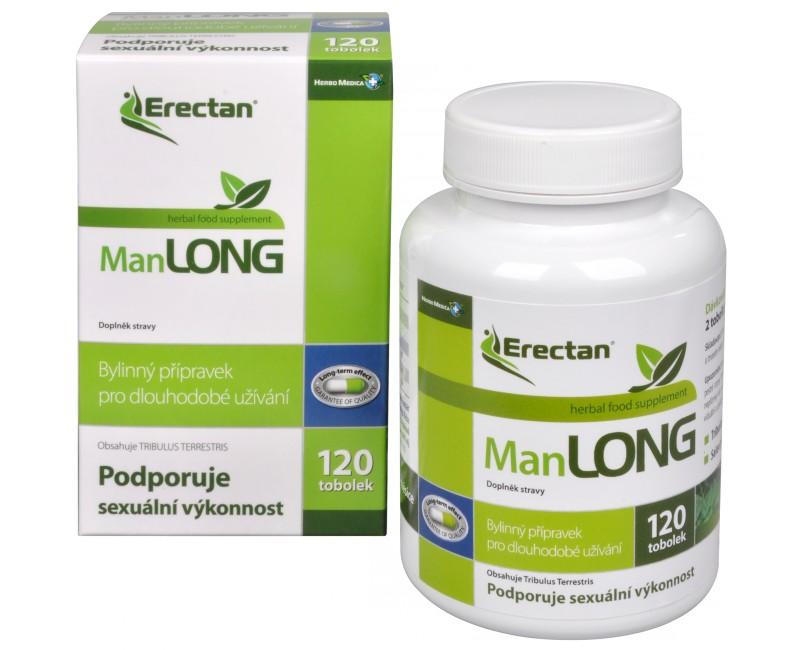 Fotografie Herbo Medica Erectan ManLONG 120 tob.