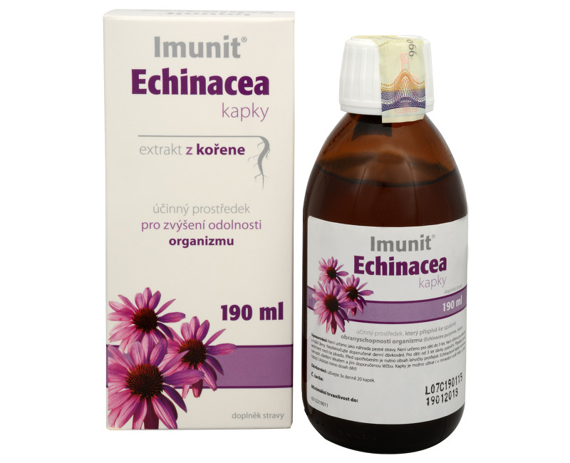 Fotografie Simply You Imunit Echinacea kapky extrakt z kořene 190 ml