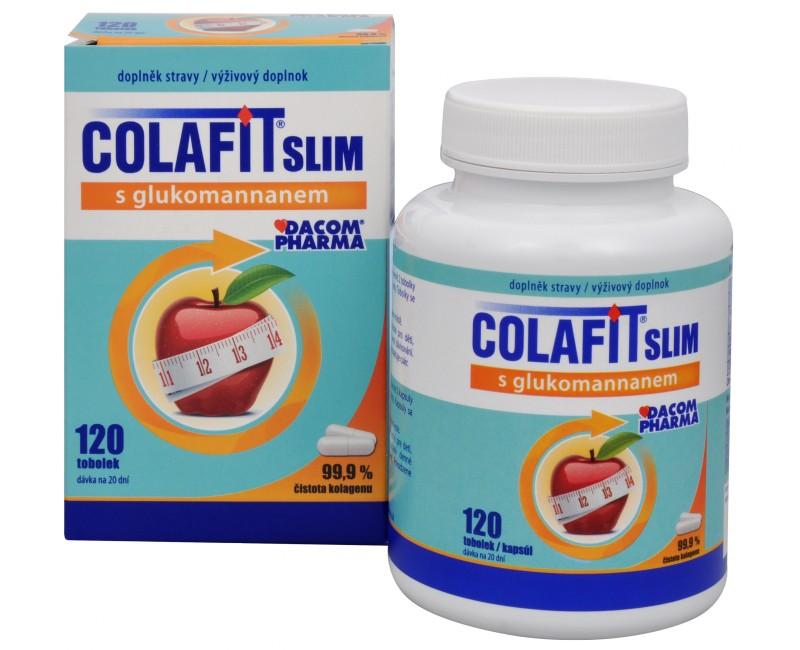 Colafit slim s glukomannanem 120 tob.