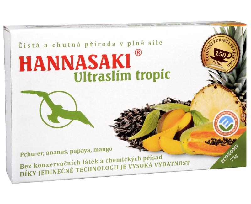 Hannasaki UltraSlim - čajová směs 3 x 25 g Fruit