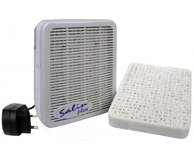 Salin Plus solný přístroj pro čištění vzduchu + náhradní blok Salin Plus