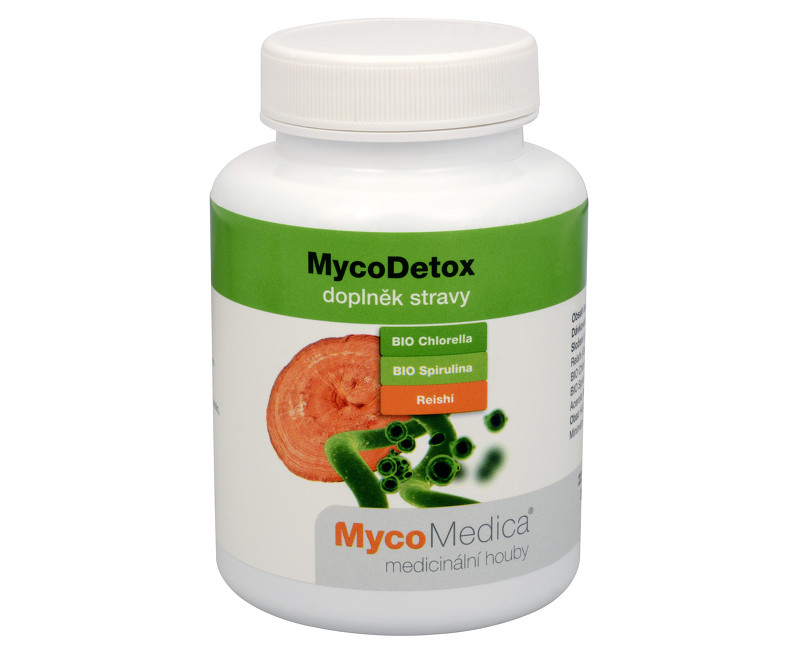 Fotografie MycoDetox 120 kapslí