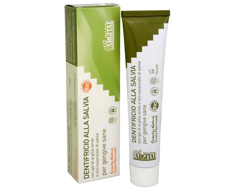Fotografie Argital - zubní pasta se šalvějí a zeleným jílem 75 ml