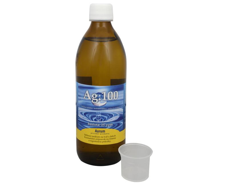 Koloidní stříbro Ag100 (25ppm) 500 ml