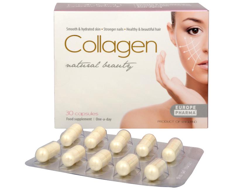 Collagen natural beauty 30 kapslí