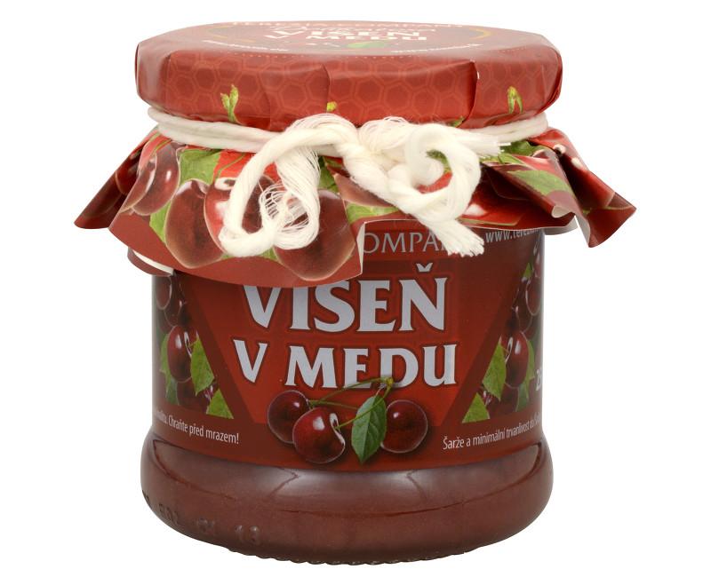 Fotografie Višeň v medu 250 g