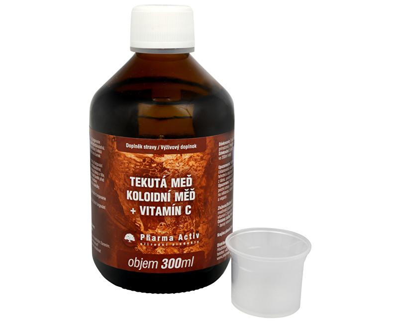 Fotografie Koloidní měď + vitamín C 300 ml