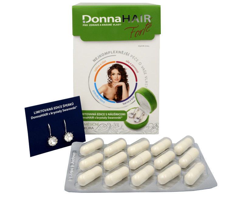 Fotografie Donna Hair Forte 90 tob. + náušnice Swarovski ZDARMA (model 2015)