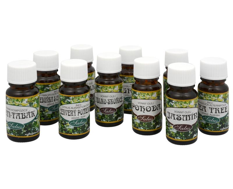 Fotografie 100% přírodní esenciální olej pro aromaterapii 10 ml Antitabák