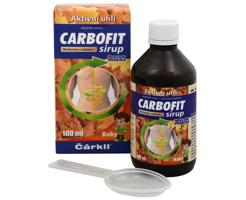 Carbofit sirup 100 ml